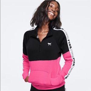 Vs Pink Perfect Quarter Zip XS